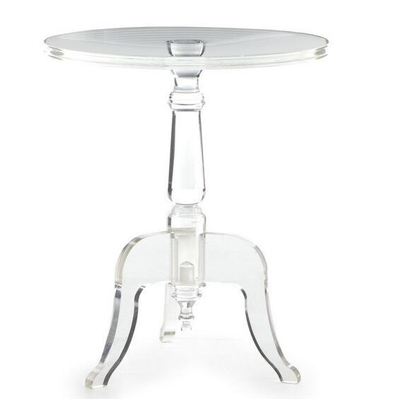 Superbe Round Acrylic Rod Base With 3 KD Legs